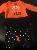 My was born to big for new born and can't wear this adorable Halloween outfit in Travis AFB, California