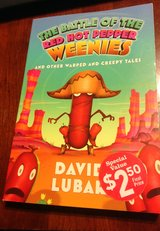 The battle of the Red Hot Peppers Weenies paperback book in Manhattan, Kansas