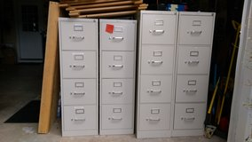 HON 4 drawer file cabinets in Warner Robins, Georgia