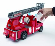 Brand New Bruder Fire Truck lights and sounds w/water sprayer in Camp Lejeune, North Carolina