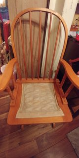 Solid Wood Gliding Chair in Fort Campbell, Kentucky