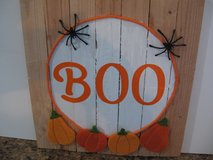"""BOO"" Halloween sign in Alamogordo, New Mexico"