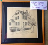 Wilmington NC pen & ink drawings in Wilmington, North Carolina