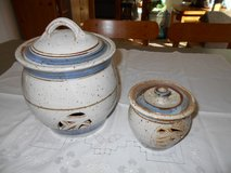 Pottery Set for Onion and Garlic Storage – Made in Germany in Camp Lejeune, North Carolina