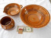 Pottery Bowl Set – Made in Germany in Camp Lejeune, North Carolina