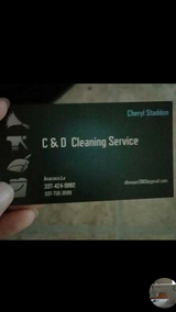 I clean homes in DeRidder, Louisiana