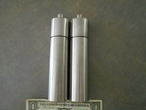 Stainless Steel Salt and Pepper Mills - Made in Germany in Camp Lejeune, North Carolina