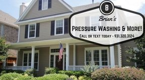 Residential Pressure Washing in Clarksville, Tennessee