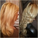 Hair Extensions Services with Hair Included in Temecula, California