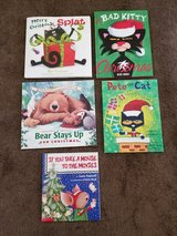 Christmas Books - 5 Books  - Pete the Cat in Spring, Texas