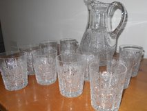 Lead Crystal Iced Tea Set – Made in Germany in Camp Lejeune, North Carolina