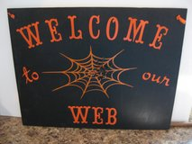 Welcome to our Web Halloween sign in Alamogordo, New Mexico