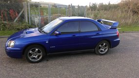 Subaru Impreza 2.0 GX, non turbo,blue,2003,AUTOMATIC in Lakenheath, UK