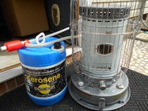 Kerosene Heater with 5gal storage container and syphon pump in Camp Lejeune, North Carolina