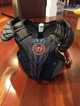 NEW with Tags Warrior Burn Hitman Girls Lacrosse Chest Protector in Glendale Heights, Illinois
