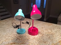 Two desk lamps in Glendale Heights, Illinois