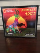 NEW UNOPENED Laser Pegs National Georgraphic Animals (12 in 1) in Glendale Heights, Illinois