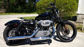 2010 Harley Davidson XL1200 Nightster Custom in Wilmington, North Carolina