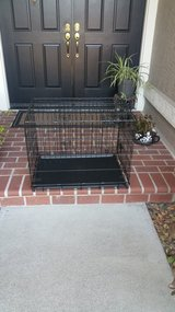 Dog crate in Vacaville, California