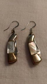 Knife earrings in Perry, Georgia