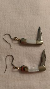 Knife earrings 4 in Perry, Georgia
