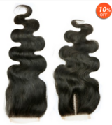 High quality human hair closures.  Available now at moderate prices in Ramstein, Germany
