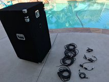 DJ System (Box, Mixer, Double CD's, Power strip, cables) in Oceanside, California