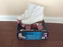 White  Roller Skates women size 8 in Fort Knox, Kentucky