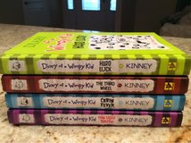 Set of four books, Diary of a Wimpy Kid in Glendale Heights, Illinois