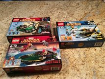 Three Lego sets in Glendale Heights, Illinois