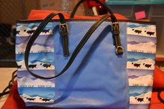New!  Leather Border Collie Tote in Sandwich, Illinois