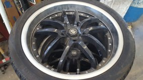 18 inch wheels and tires chevy bolt pattern 5 lug in Fort Riley, Kansas