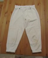 Easton youth baseball pants - white in Joliet, Illinois