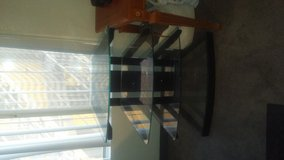 Glass TV-stand for cheap because of urgent move! in Las Vegas, Nevada