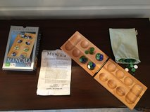 Wooden Mancala Board Game - Math Fun! in Lockport, Illinois