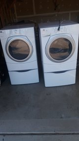 Front loader washer and dryer in Colorado Springs, Colorado