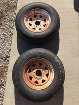 Trailer tires with rims in Fort Leonard Wood, Missouri