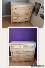 Matching bedroom set: dresser and nightstand in Spring, Texas