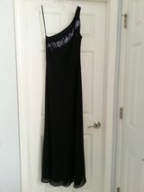 Black One Shoulder Dress with Beautiful Beadwork in Plainfield, Illinois