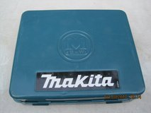 Vintage Blue Makita  Metal Tool Box.Drill Not included. in Vacaville, California