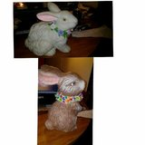 Easter Ceramic Bunny in Baytown, Texas