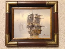 Painting of Ship by Garcia in Naperville, Illinois
