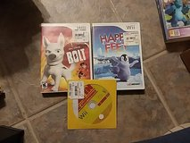 Wii games- Bolt, Happy Feet, Alvin in Alamogordo, New Mexico
