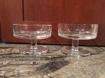 Crate & Barrel Pillar Candle Holders - Set of 2 in Lockport, Illinois