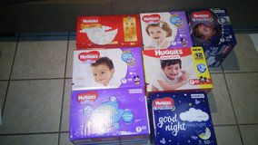 Boxes of diapers SPECIAL in 29 Palms, California