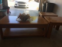 Oak coffee table in Hemet, California