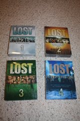 Lost DVDs Seasons 1-4 in Oswego, Illinois