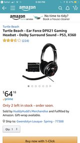 PS3 headphones- Turtle Beach in Spring, Texas