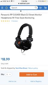 Panasonic headphones brand new in CyFair, Texas
