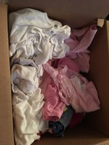 box full of new born clothes whole box $7 in Vacaville, California